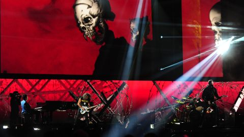 """Concert pianist Lang Lang joins Metallica for a rendition of the rock band's song """"One."""""""