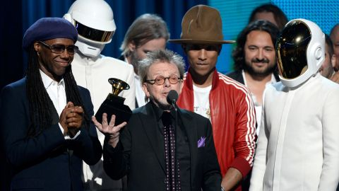 """<strong>Album of the year:</strong> """"Random Access Memories"""" by Daft Punk. It also won best dance/electronica album."""