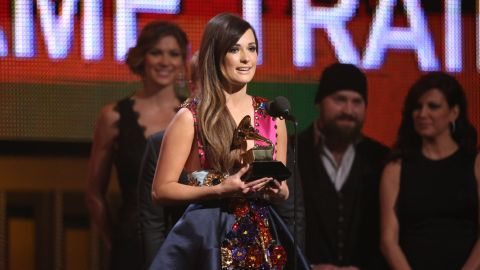 """<strong>Best country album: </strong>""""Same Trailer Different Park"""" by Kacey Musgraves. She also won best country song for """"Merry Go 'Round."""""""