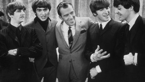 """On February 9, 1964, <a href=""""http://www.cnn.com/2014/01/30/showbiz/beatles-ed-sullivan-beatlemania-5-things/index.html"""">the Beatles made their U.S. debut on """"The Ed Sullivan Show,""""</a> kicking off the American strain of """"Beatlemania"""" -- a fever that had already infected their native Britain. The show remains one of the highest-rated entertainment programs of all time."""