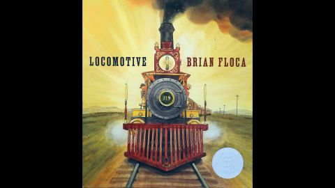 """""""Locomotive,"""" illustrated by Brian Floca, is the 2014 Caldecott Medal winner."""