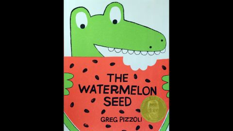 """""""The Watermelon Seed,"""" written and illustrated by Greg Pizzoli, is the Theodor S. Geisel Award winner."""