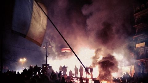 Ukraine native Freddy UA has been documenting the protesting since it erupted in Kiev in November 2013.