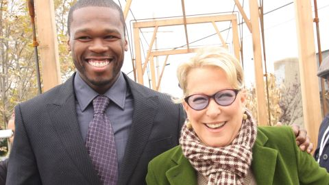 """It turns out that Meryl Streep isn't 50 Cent's only high-powered friend. He's also pals with Bette Midler, volunteering for Midler's New York Restoration Project. """"He's really made my life worth living,"""" <a href=""""http://www.nydailynews.com/entertainment/gossip/50-cent-bette-midler-odd-pairing-restoration-project-article-1.372944"""" target=""""_blank"""" target=""""_blank"""">Midler said in 2009</a>. """"(50) has been with me through thick and thin."""""""