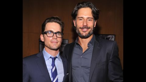 """Matt Bomer, left, and Joe Manganiello were bros long before they starred in 2012's """"Magic Mike"""" together. The two actors have been buds since college."""