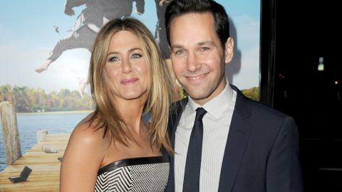 """Jennifer Aniston's friendship with Courteney Cox gets all the attention, but she's just as cool with Rudd. The two met as budding thespians in Los Angeles and then got to know each other better with 1998's """"The Object of My Affection."""" By the time they got around to co-starring together again in 2012's """"Wanderlust,"""" Aniston and Rudd could call each other old friends."""