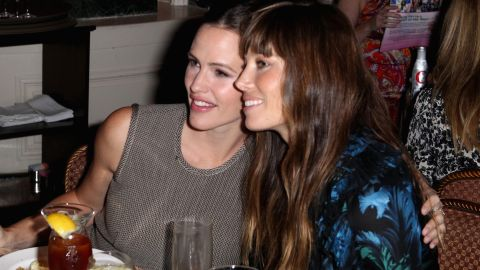 """Ever since they co-starred in the 2010 romantic comedy """"Valentine's Day,"""" Jennifer Garner, left, and Jessica Biel can't get enough of one another. """"We don't work with a lot of women on our films,"""" <a href=""""http://www.marieclaire.com/celebrity-lifestyle/celebrities/jennifer-garner-jessica-biel-interview"""" target=""""_blank"""" target=""""_blank"""">Biel explained of their bond</a>. """"On this film, it was great to have someone like Jessica around."""""""