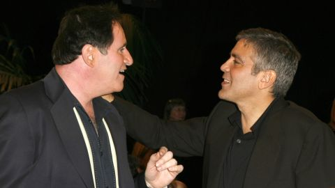 """Only a Kind friend would let someone pull a """"five or six year"""" prank and still talk to them. That's the kind of relationship that Richard Kind, left, and George Clooney have, as they've been <a href=""""http://www.esquire.com/features/what-ive-learned/meaning-of-life-2012/george-clooney-quotes-0112-2"""" target=""""_blank"""" target=""""_blank"""">through thick</a> <a href=""""http://www.cbsnews.com/news/george-clooney-on-his-longest-practical-joke/"""" target=""""_blank"""" target=""""_blank"""">and thin</a> together."""