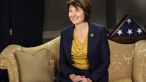 Rep. Cathy McMorris Rodgers, R-Wash., rehearses the Republican response to the State of the Union on Capitol Hill that she will deliver in Washington, Tuesday, Jan. 28, 2014. (AP Photo/Susan Walsh)