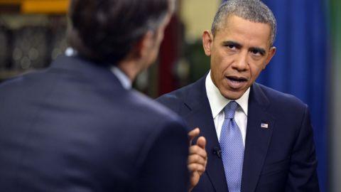 President Barack Obama talks exclusively to CNN's Jake Tapper