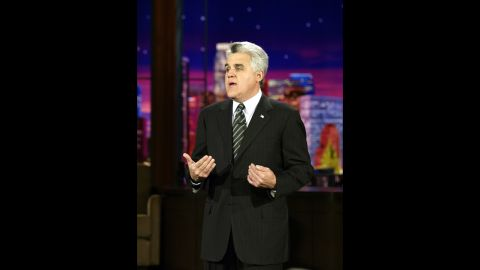 """Leno hosted """"The Tonight Show"""" for 22 years -- minus seven months in 2009-10 when Conan O'Brien had the chair. He had his final episode on February 6."""