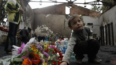 The siege ended on September 3, 2004, leaving 334 people dead -- including 186 children -- and more than 700 people wounded.
