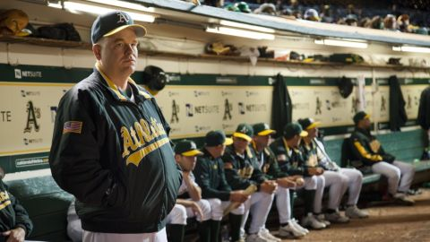 """Hoffman plays manager Art Howe in the 2011 hit """"Moneyball."""" The real Art Howe was reportedly not pleased with how he was portrayed in the film but <a href=""""http://www.tmz.com/2014/02/02/philip-seymore-hoffman-art-howe-moneyball-forgive/?adid=sidebarwidget-tmzsports"""" target=""""_blank"""" target=""""_blank"""">told TMZ Sports</a> he didn't blame Hoffman. """"He was just playing the part he was given,"""" Howe said.<br />"""