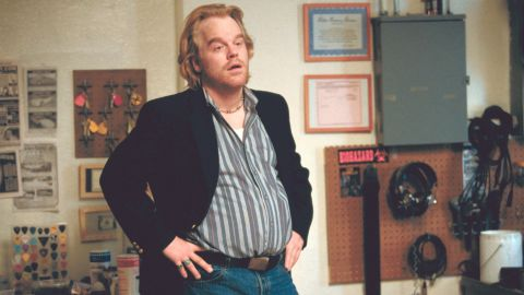 """Hoffman plays a phone sex-line supervisor and mattress store owner in 2002's """"Punch-Drunk Love."""""""