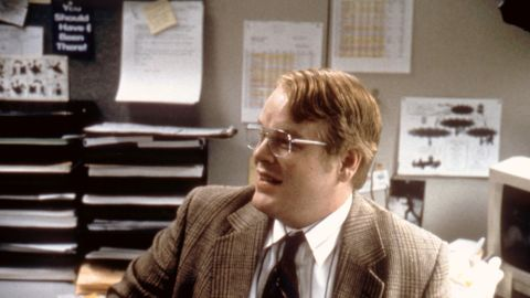 """Hoffman in 1998's comedy-drama """"Happiness."""""""