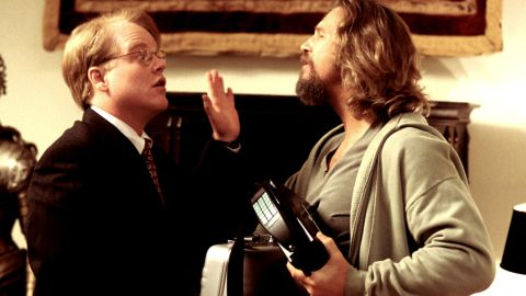 """Hoffman plays Brandt, Mr. Lebowski's personal assistant, in the 1998 cult comedy hit """"The Big Lebowski."""""""