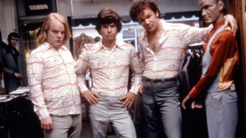 """Hoffman played the slightly creepy production assistant Scotty in 1997's """"Boogie Nights,"""" with Mark Wahlberg and John C. Reilly."""