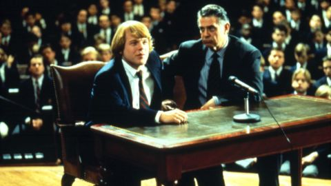 """Hoffman plays George Willis Jr. in 1992's """"Scent of a Woman."""" He is credited as Philip S. Hoffman in the movie."""