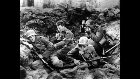 """<strong>""""All Quiet on the Western Front"""" (1931):</strong> """"All Quiet on the Western Front,"""" best picture of 1929-30, was the film adaptation of Erich Maria Remarque's classic novel. The film stars Lewis Wolheim and Lew Ayres and was directed by Lewis Milestone."""