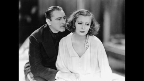 """<strong>""""Grand Hotel"""" (1933):</strong> The all-star cast of """"Grand Hotel,"""" including Greta Garbo and John Barrymore (pictured), portrayed characters in a mix of plot lines at a Berlin hotel. The film won just the one Oscar, but has been immortalized for one of Garbo's lines of dialogue: """"I want to be alone."""""""