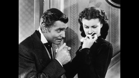 """<strong>""""Gone With the Wind"""" (1940):</strong> Still considered one of the great Hollywood epics, 1939's """"Gone With the Wind"""" won 10 Oscars, including best picture and best actress for star Vivien Leigh, right. Though Clark Gable was nominated for best actor, he lost to Robert Donat (""""Goodbye, Mr. Chips"""") in one of the great Oscar upsets."""