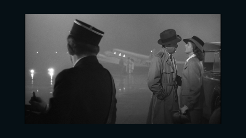 """<strong>""""Casablanca"""" (1944):</strong> We'll always have Bogart and Bergman, aka Rick and Ilsa, in Michael Curtiz's """"Casablanca."""" Nobody at Warner Bros. expected this movie, based on an unproduced play, """"Everybody Comes to Rick's,"""" to be a classic when it came out, but the <a href=""""http://www.afi.com/100Years/movies10.aspx"""" target=""""_blank"""" target=""""_blank"""">American Film Institute ranked this best picture winner as the third-greatest U.S. film</a> more than 60 years later."""