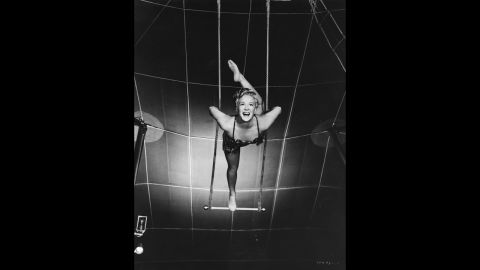 """<strong>""""The Greatest Show on Earth"""" (1953):</strong> Producer-director Cecil B. DeMille had been making epics since the silents, but none had won best picture until """"The Greatest Show on Earth,"""" a 1952 circus spectacular with Betty Hutton, pictured, and Charlton Heston. Many critics and fans dismiss the movie as one of the worst best picture Oscar winners. """"Singin' in the Rain,"""" considered <a href=""""http://www.afi.com/100years/musicals.aspx"""" target=""""_blank"""" target=""""_blank"""">Hollywood's greatest movie musical</a>, wasn't even nominated that year."""