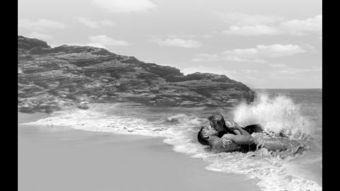 """<strong>""""From Here to Eternity"""" (1954):</strong> Facing the strict movie censorship of the 1950s, director Fred Zinnemann's version of """"From Here to Eternity"""" considerably toned down James Jones' tough and profane novel about military life in Hawaii on the eve of the Pearl Harbor attack. But Burt Lancaster and Deborah Kerr's sexy tryst on the beach made waves among moviegoers."""