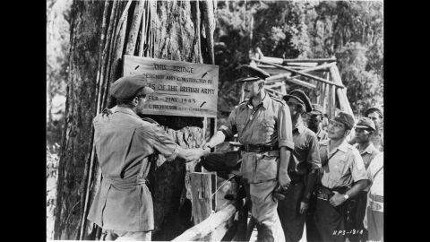 """<strong>""""The Bridge on the River Kwai"""" (1958): </strong>Director David Lean proved filmmakers could make intelligent epics such as """"The Bridge on the River Kwai."""" Already a star in British films, Alec Guinness won international fame and a best actor Oscar as a British colonel held prisoner with his men in a Japanese camp during World War II."""