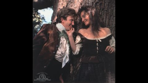 """<strong>""""Tom Jones"""" (1964):</strong> Albert Finney tackled the amorous title role in """"Tom Jones,"""" a British comedy based on Henry Fielding's novel about a foundling raised by a wealthy landowner. Diane Cilento, right, was one of his conquests. Tony Richardson also won the Oscar for his direction of the film."""