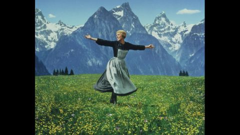 """<strong>""""The Sound of Music"""" (1966):</strong> Forget the <a href=""""http://www.cnn.com/2013/12/06/showbiz/tv/sound-of-music-live-nbc/"""">recent live broadcast of the Richard Rodgers and Oscar Hammerstein musical</a> on NBC with Carrie Underwood. For many movie fans, Julie Andrews remains the one and only Maria, governess to the von Trapp children in Austria on the eve of World War II. Marni Nixon, who dubbed the singing voices of Natalie Wood in """"West Side Story,"""" Deborah Kerr in """"The King and I"""" and Audrey Hepburn in """"My Fair Lady,"""" had her first on-screen role as a nun. Not only did """"The Sound of Music"""" win best picture, it was also for a time the biggest moneymaker ever."""