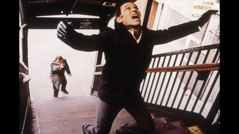 """<strong>""""The French Connection"""" (1972):</strong> Gene Hackman as Detective """"Popeye"""" Doyle goes after hit man Marcel Bozzuffi in William Friedkin's """"The French Connection."""" This best picture winner about New York cops trying to stop a huge heroin shipment from France features one of the movies' most memorable chase scenes."""
