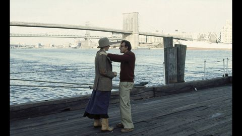 """<strong>""""Annie Hall"""" (1978):</strong> Moviegoers fell in love with Diane Keaton in her Oscar-winning role as the ditsy, insecure heroine of Woody Allen's autobiographical """"Annie Hall."""" Her thrift-store fashions and offbeat sayings (""""La-di-da, la-di-da"""") became hallmarks of the late '70s. Allen won Oscars for best director and original screenplay (with Marshall Brickman) for the film."""