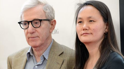"""Allen's breakup with Mia Farrow was precipitated by her discovery of an affair between the director and her then 21-year-old adopted daughter Soon-Yi Previn. Farrow found nude photos of Previn in Allen's apartment. Previn and Allen, seen here in 2012 at the premiere of """"To Rome With Love"""" in Los Angeles, have been married since 1997 and are the parents of two adopted daughters."""