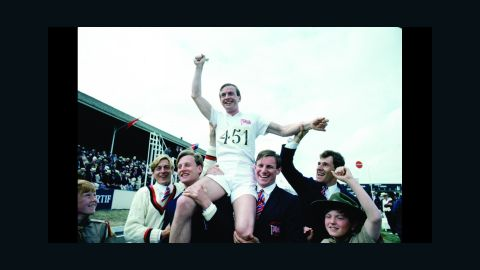 """<strong>""""Chariots of Fire"""" (1982):</strong> In another Oscar sleeper, """"Chariots of Fire,"""" a small British film about two English runners competing in the 1924 Olympics, beat Warren Beatty's epic film """"Reds"""" for best picture. """"Chariots"""" won four Oscars, including one for its stirring score by Vangelis. The theme music also hit No. 1 on the pop charts. Beatty wasn't entirely shut out: He picked up the Oscar for best director."""