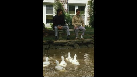 """<strong>""""Rain Man"""" (1989):</strong> Though """"Rain Man"""" is ostensibly about the relationship between Dustin Hoffman's autistic Raymond Babbitt and his brother, Charlie (Tom Cruise), it's probably best remembered for Hoffman's performance as a savant who can do complicated calculations in his head, count cards in Las Vegas and never miss an episode of Judge Joseph Wapner's """"People's Court."""" The film won four Oscars, including a best actor award for Hoffman and a best director trophy for Barry Levinson."""