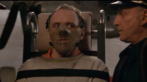 """""""The Silence of the Lambs"""" won a slew of Oscars, including best actor (for Anthony Hopkins, pictured), best actress (Jodie Foster) and best picture. The 1991 film stars Foster as an FBI agent on the trail of a serial killer and Hopkins -- who has just 16 minutes of screen time -- as Hannibal Lecter, a jailed killer who assists her."""