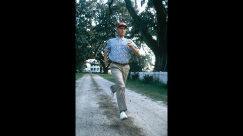 """<strong>""""Forrest Gump"""" (1995):</strong> Tom Hanks plays a Southern bumpkin who always seems to be in proximity to great events, whether they be the Vietnam War, U.S.-Chinese ping-pong diplomacy or the writing of """"Imagine."""" Though some critics hooted, the film was a popular success and also won Oscars for Hanks, director Robert Zemeckis and adapted screenplay -- six in all."""