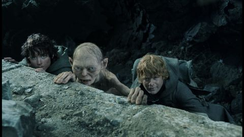 """Sean Astin, far right, in """"The Lord of the Rings: The Return of the King"""" with Elijah Wood and Andy Serkis."""