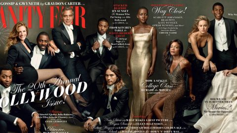 Vanity Fair's Hollywood Issue features a wide range of Hollywood stars.
