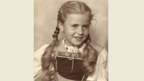 Mary at 7 years old