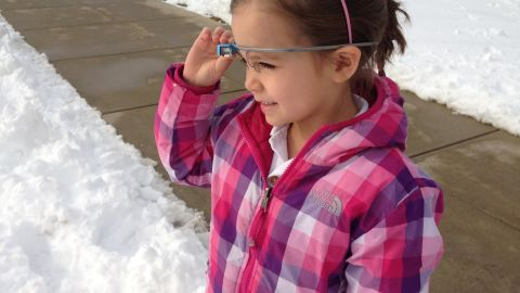 """After a recent run of winter weather, kindergarten students at the Episcopal Academy used Google Glass to explain <a href=""""http://365daysofglass.com/post/75623506999/365-days-of-glass-day-73-today-a-few-of-our"""" target=""""_blank"""" target=""""_blank"""">what they know about snowflakes</a>. Powers created a blog, 365 Days of Glass, to record how students and educators at the school are using the product."""