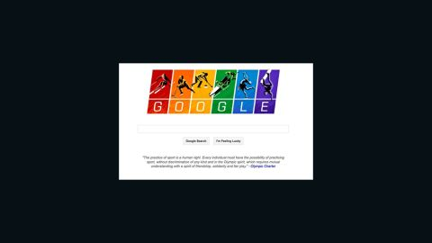 Google's Sochi Olympics doodle