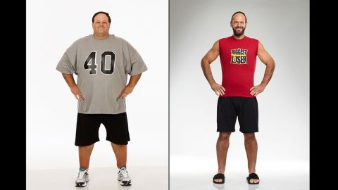John Rhode sealed the win in 2011 by ending the season 220 pounds lighter. Rhode entered the competition weighing 445 pounds, and after working with trainer Bob Harper he had lost nearly half of his body weight.
