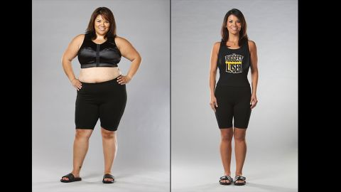 """Michelle Aguilar's 100-pound weight loss on season 6 of """"The Biggest Loser"""" was more than just a physical change. """"Not only did it show me that I was capable of more than I believed I was, but it also helped me to truly find myself,"""" <a href=""""http://www.beliefnet.com/Entertainment/Books/Facing-the-Fear-With-Michelle-Aguilar.aspx"""" target=""""_blank"""" target=""""_blank"""">she said</a>. """"I learned to change from the inside out."""""""