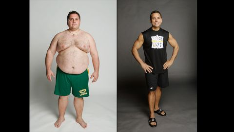 """Bill Germanakos helped set the standard for what it means to be """"The Biggest Loser"""" when he lost 164 pounds in season 4. Bill signed up for the show with his twin brother, Jim, who also lost a massive amount of weight thanks to the show. Although Jim was eliminated, he kept up at home and dropped 185 pounds."""