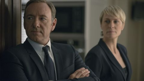 """Political thriller """"House of Cards"""" may be binge-worthy by design as a Netflix original series that comes out one season at a time. But some recommend only watching a few episodes in each sitting to better savor the saga of Frank and Claire Underwood's conniving ways. The series stars Kevin Spacey and Robin Wright."""