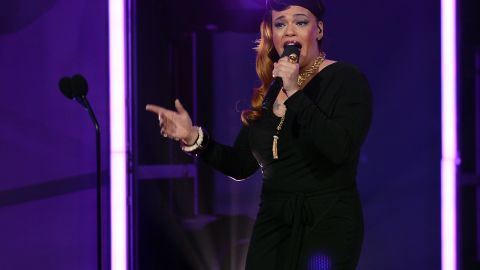 Singer Faith Evans was born into music: She was raised by her grandmother and mother, a black blues singer. Her father was an Italian musician.