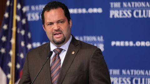 """""""My father's white, and my mother's black,"""" former NAACP President and CEO Benjamin Jealous <a href=""""http://www.latimes.com/la-oe-morrison20-2009jun20,0,1428882.column#ixzz2t3akg7OX"""" target=""""_blank"""" target=""""_blank"""">told the Los Angeles Times</a> in 2009. """"There was always a conversation on race and racial exclusion in our household."""""""