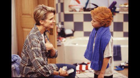 """Candice Bergen as reporter Murphy Brown in """"Murphy Brown."""""""